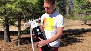 Comment utiliser un pompe triple action pour une planche à pagaie gonflable
