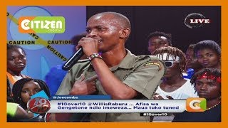 Afande on the MIC… Prison warder/musician Onesih on #10Over10
