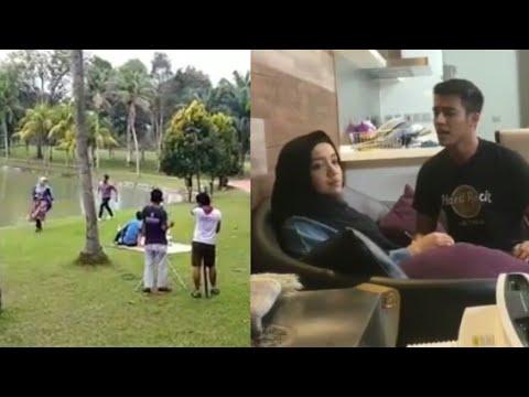 Sweetnya!! Scene Aliff Aziz Kejar Mira Filzah Depan Tasik Dalam Drama Terbarunya 'Meh Sandar Lagi'