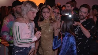 Lourdes Leon at Jeremy Scott Fashion Show in NYC