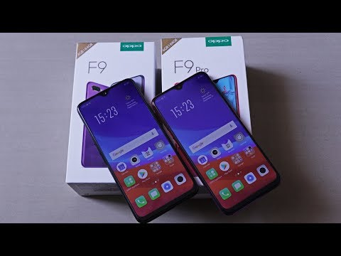 OPPO F9 [India] Unboxing, Hands On, Camera Samples | Quick Compare With OPPO F9 Pro