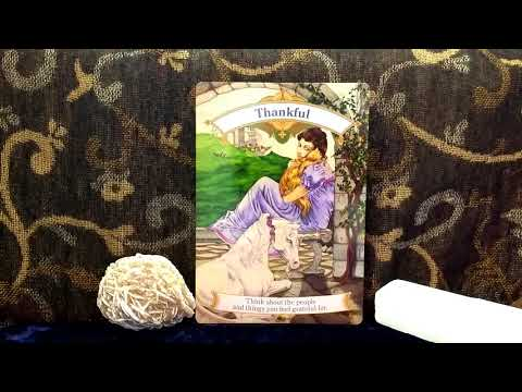 Daily Oracle Card Reading 5th April 2018 unicorns Angels tarot