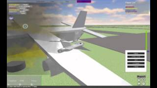 Roblox Plane Crash Compilation