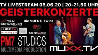 Geisterkonzert: Die MUFUTI Twins live