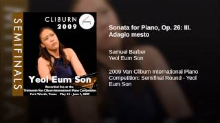 Sonata for Piano, Op. 26: III. Adagio mesto