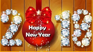 Happy New Year 2018 Greeting Card For Whatsapp