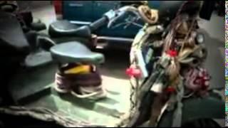 Modifikasi Motor Vespa Gembel Indonesia