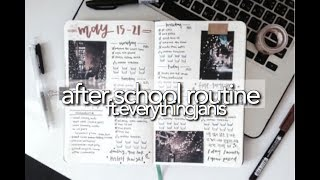 After School Study Routine || revisign