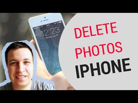 How to remove photos from iphone 4s using itunes