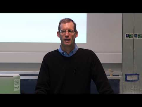 'Capital Raising' lecture by Tony Glenning, Investment Director of Starfish Ventures
