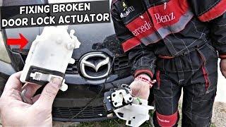 2004 2005 2006 Mazda 3 OEM Door Lock Latch Rear RH Right Sedan Power