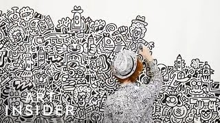 Mr. Doodle Draws On Anything