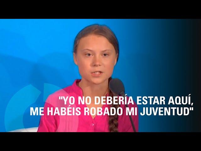 Discurso de Greta Thunberg en la ONU 2019