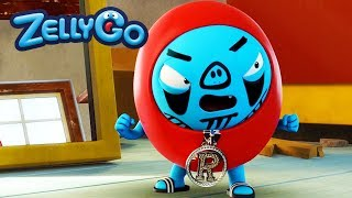 ZellyGo - Face Scribble | HD Full Episodes | Funny Cartoons for Children | Cartoons for Kids