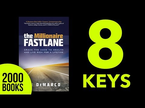 Millionaire Fastlane  Audiobook Summary MJ Demarco