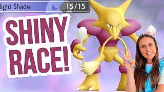 SHINY ABRA HUNT! Pokémon Let