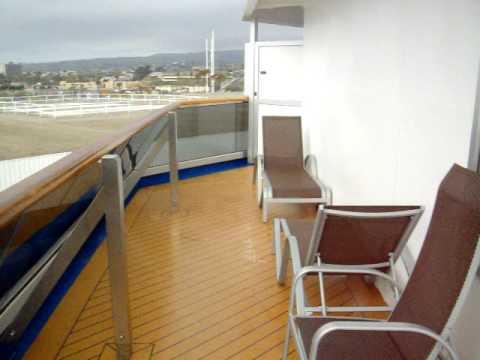 Carnival splendor room 6450  largest balcony on the ship