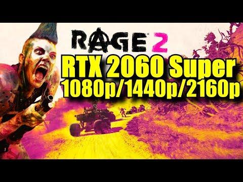 Rage 2 RTX 2060 Super OC | 1080p - 1440p & 2160p | FRAME-RATE TEST |
