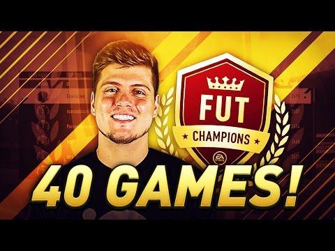 FIFA 17 FUT CHAMPIONS ELITE 1! 40/40, THE SQUAD BUILDER, NEW PATCH, & FORMATION TALK!