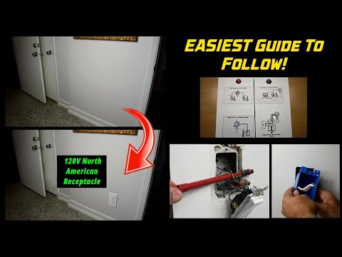 How To Add An Electrical Outlet From A Light Switch!