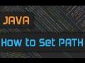 How to set JAVA Path on Windows 10