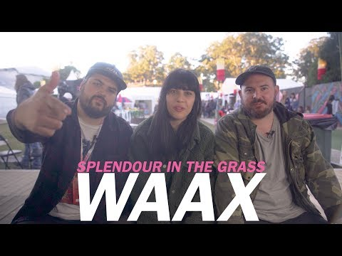 WAAX | 5 Questions With | Splendour In The Grass
