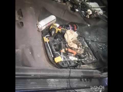 Замена радиатора печки Primera P11. Или шёл 4й день карантина