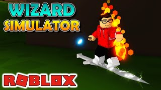 RIDING A FLYING SWORD! GAME NOVELTY-Roblox Wizard Simulator #03