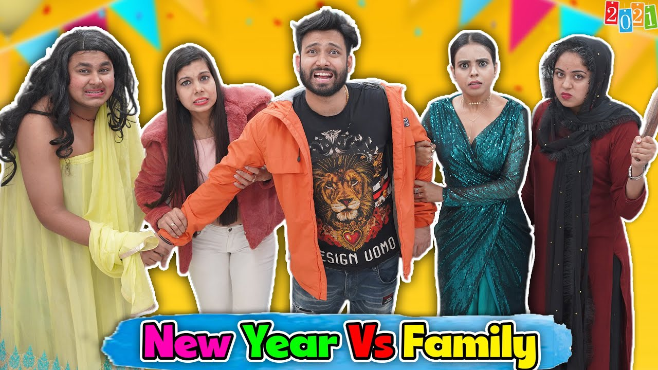 New Year Vs Family | BakLol Video