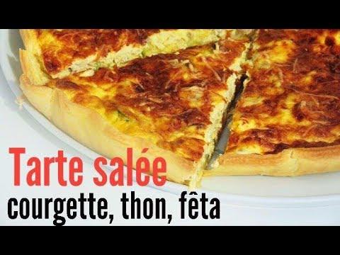 tarte-à-la-courgette,-thon-et-fêta-|-fred-et-camille-cuisine