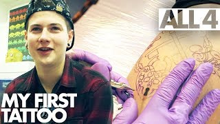 How Will These Young Adults React to Getting Their First Tattoos?! | My First Tattoo