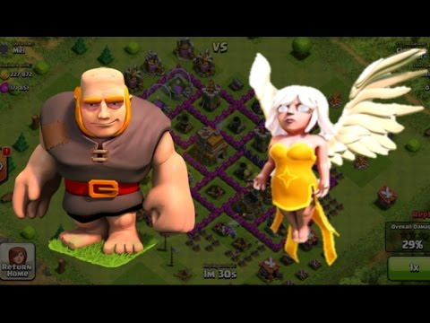 Clash of Clans - TH6 Ultimate Attack Strategy - Giants & Healers