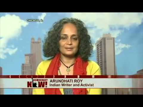 Tony Blair is a psychopath says Arundhati Roy - and Obama
