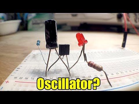 How to make a single transistor oscillator