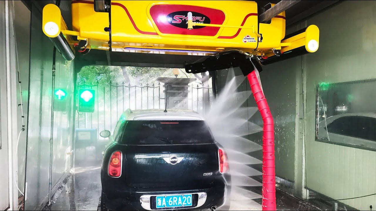 Automatic Car Wash Machine M7 Touchless Vehicle Wash System Made