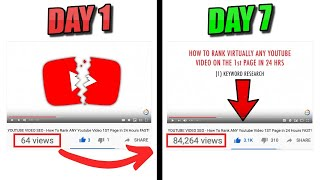 Video Youtube Video Ranking - Rank On The FIRST PAGE of Youtube In LESS THAN 24 HOURS download MP3, 3GP, MP4, WEBM, AVI, FLV Mei 2018