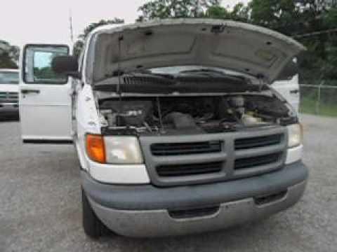 Govdeals 1999 Dodge Ram 1500 Cargo Van Used Runs Drives