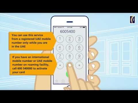 How to activate your Emirates NBD Debit or Credit Card through Text2Callتفعيل البطاقات عبر TEXT2CALL