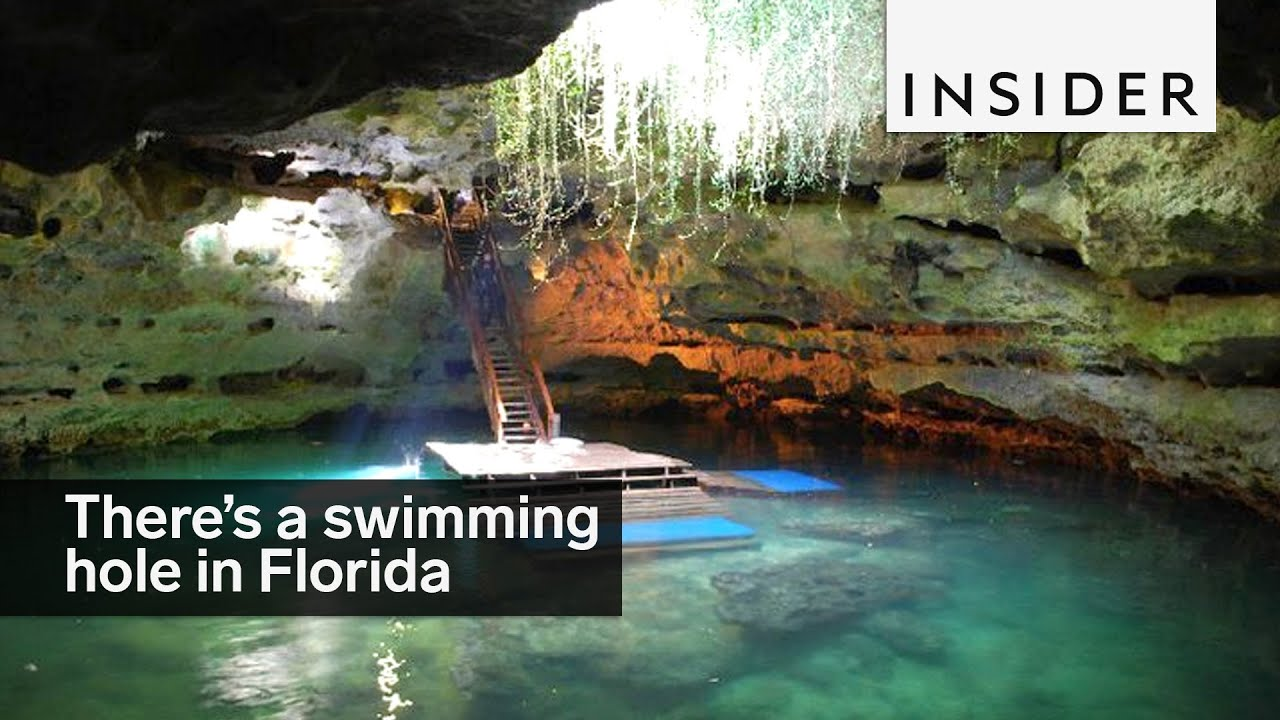 Theres A Magical Swimming Hole In Florida 60 Feet Underground