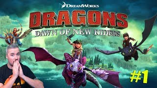 HOW TO TRAIN YOUR DRAGON - DAWN OF THE NEW RIDERS GAMEPLAY #1
