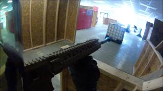 "Combat City Indoor Airsoft: ""Takedown"" (8/8/15)"