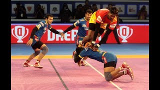 Pro Kabaddi 2018 | Qualifier 2 - Gujarat Fortunegiants vs UP Yoddha | Match Highlight | HINDI