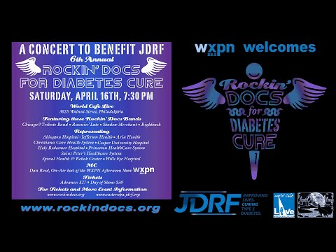 2016-04-16 Rockin' Docs for Diabetes Cure @ World Cafe Live