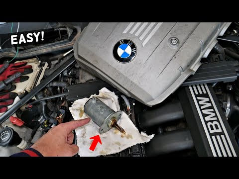 HOW TO REPLACE VALVETRONIC MOTOR ON BMW