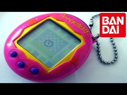 Tamagotchi de Bandai  Comercial de Tv  1995