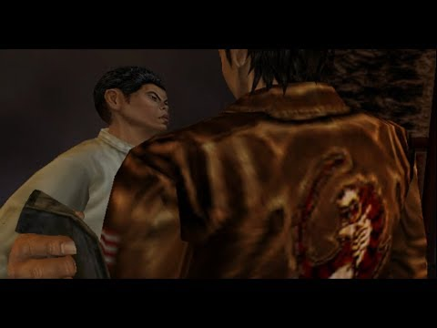 Shenmue II: Entering Man Mo Temple Fail / Not cleaning soot [HD]