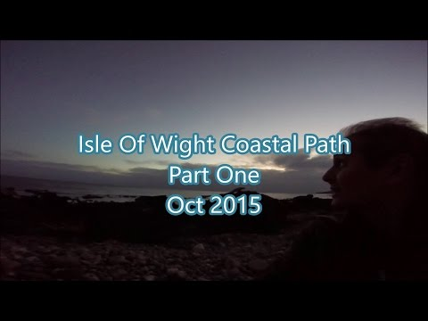 Isle of Wight  Coastal path, Part One. Oct 2015.