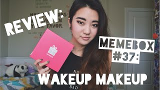 Review: Memebox #37: Wakeup Makeup! Thumbnail