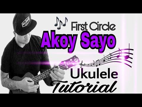 Akoy Sayo at Ikay Akin Lamang Ukulele Tutorial