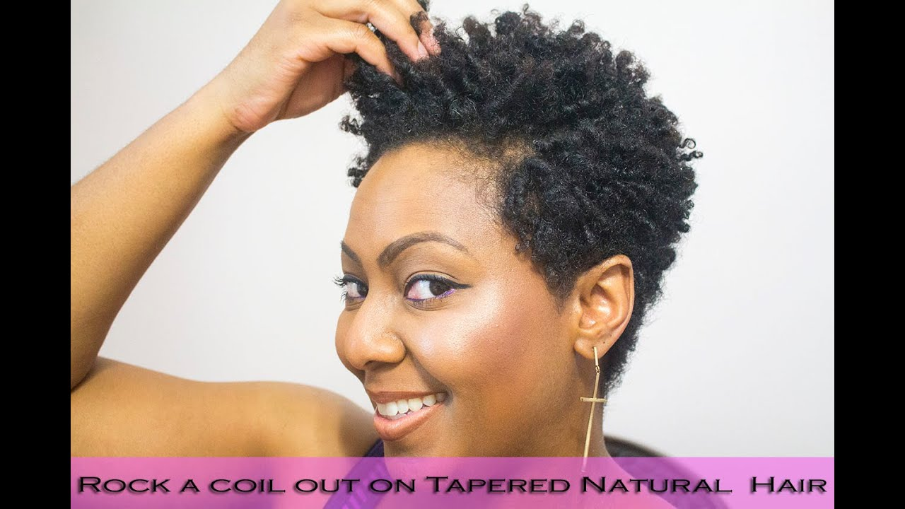 Coil Natural Hair Styles Captivating How To Do Finger Coils On Natural Hair And Rock A Coil Out With A .